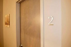 Door entrance to bedroom #2