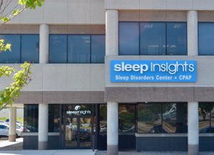Exterior of Sleep Insights' Rochester location