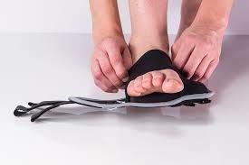 restiffic foot wrap on foot