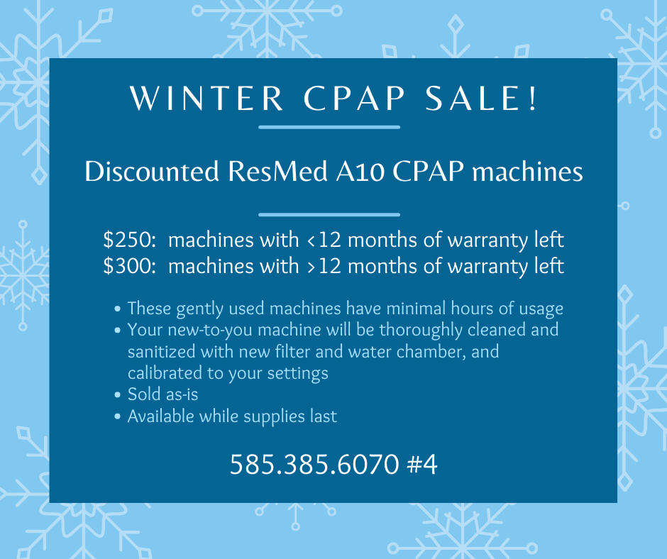 Winter CPAP sale post