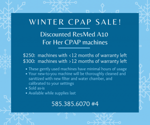 CPAP sale post