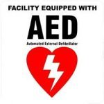 AED equipped facility logo
